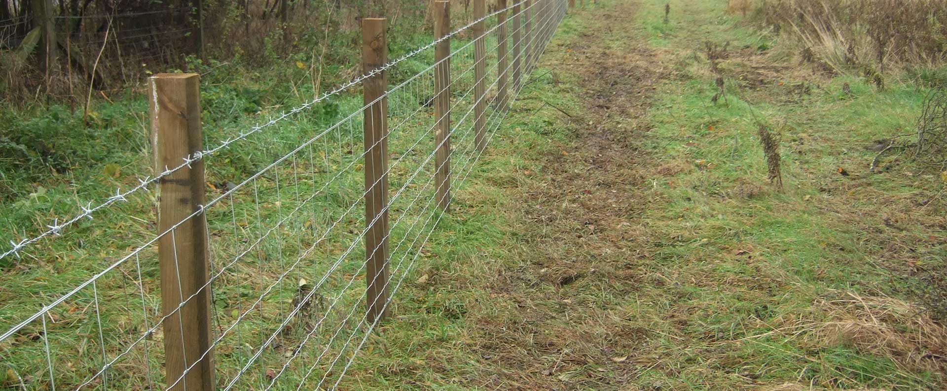 Strained Wire Fencing