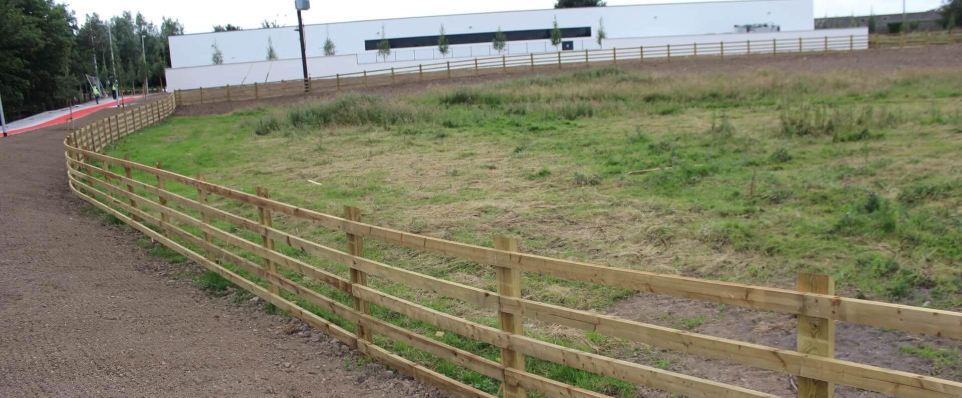 Aldi Kinnegad Fence