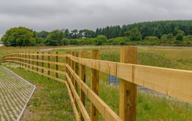 Timber Post & Rail