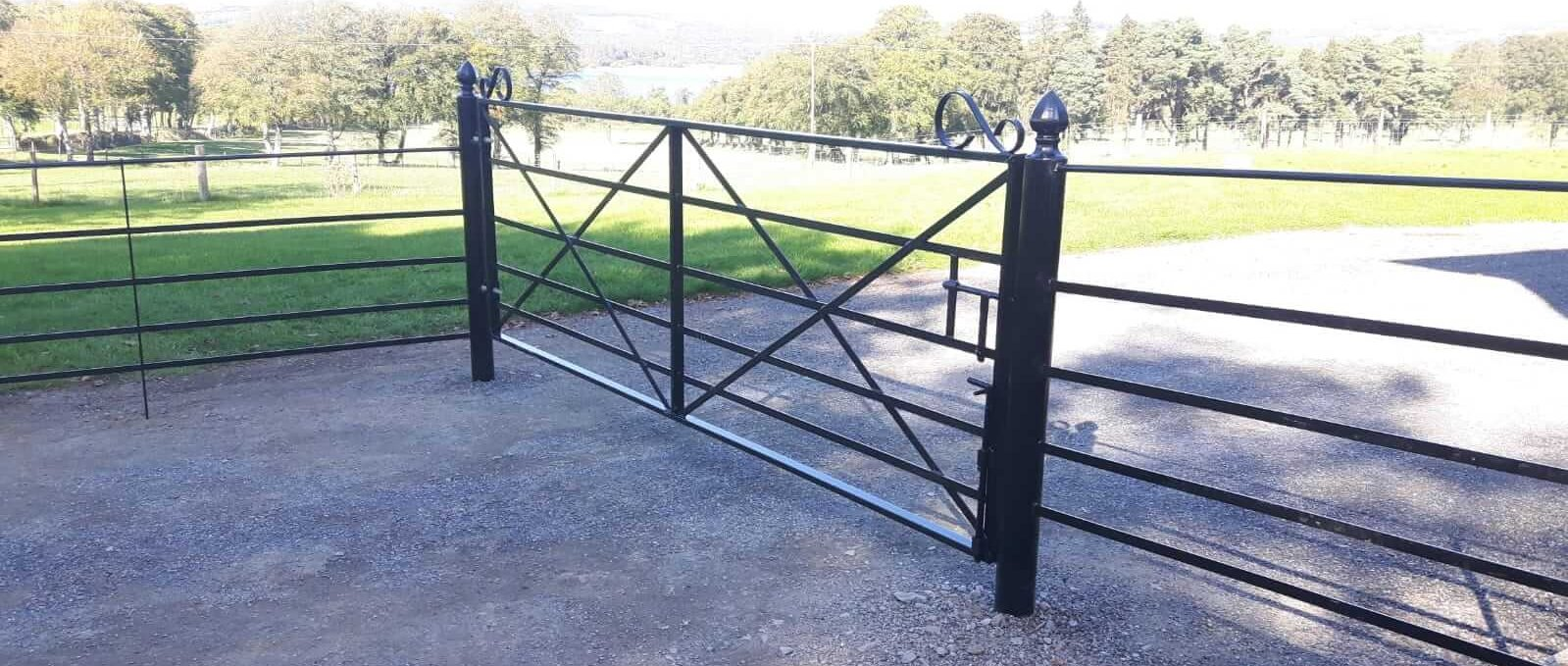 Estate Fence Gate