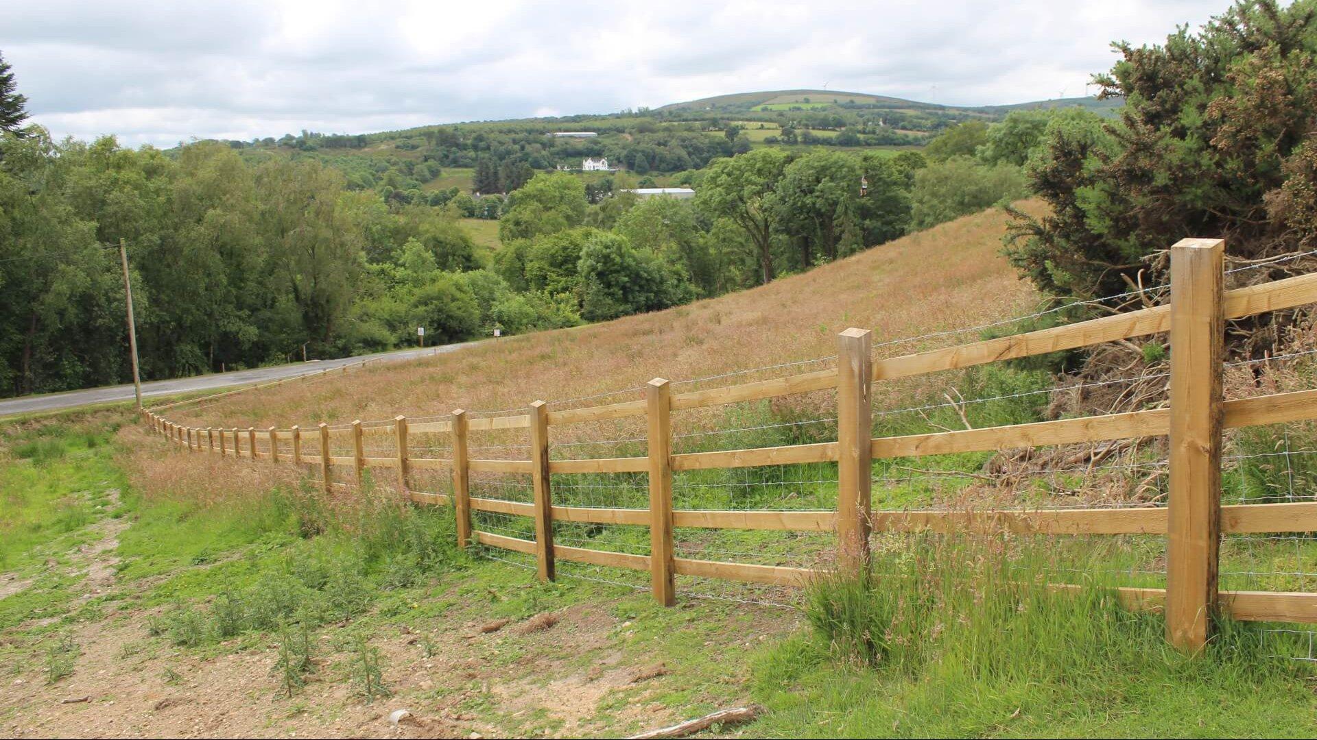Solar Farm Sheep Stock Proof Fence