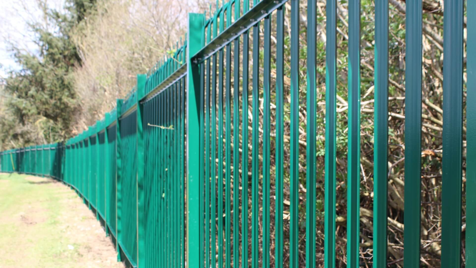 Solar Farm Palisade Security Fence
