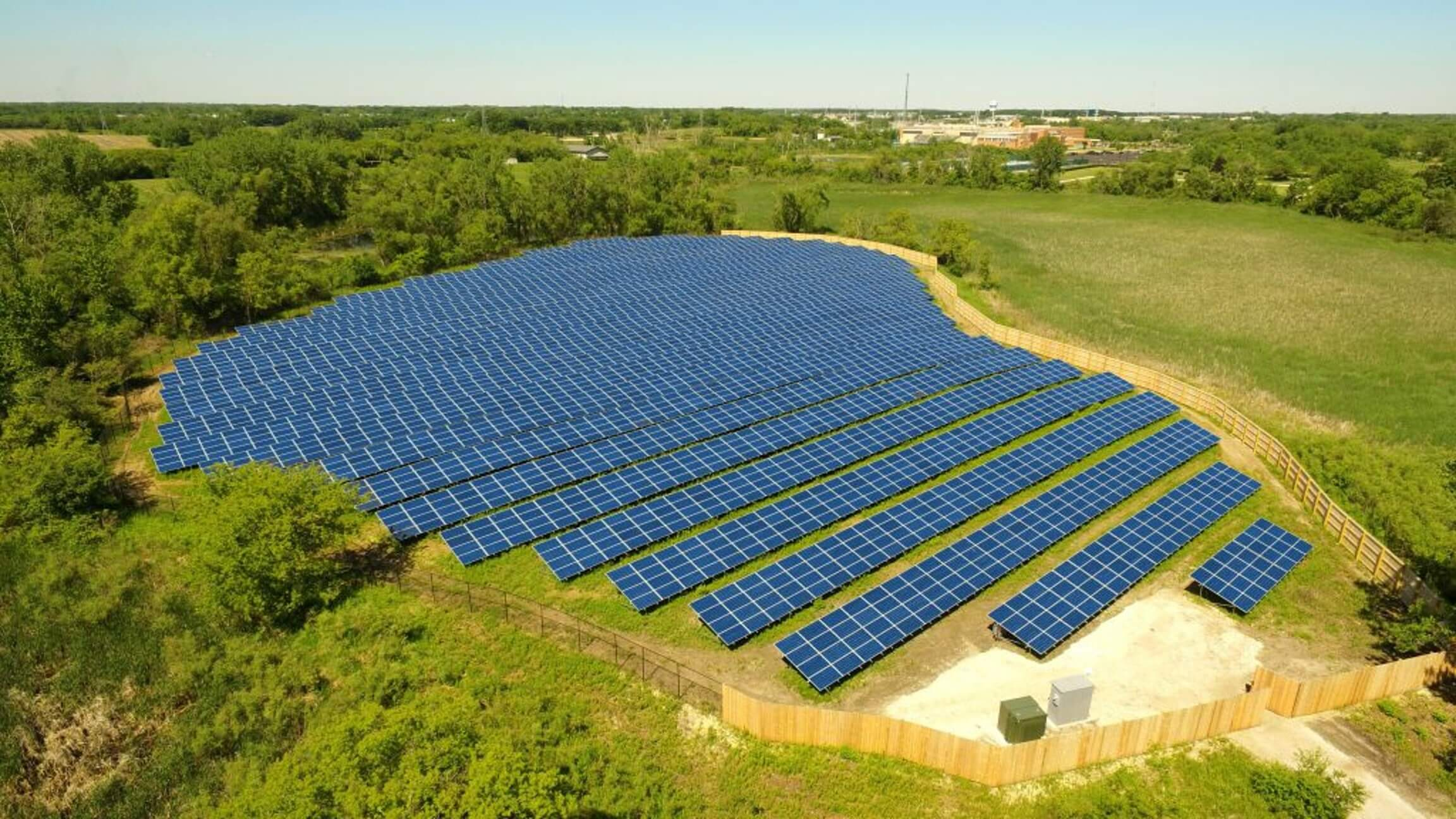 Solar Farm Installation & Fencing