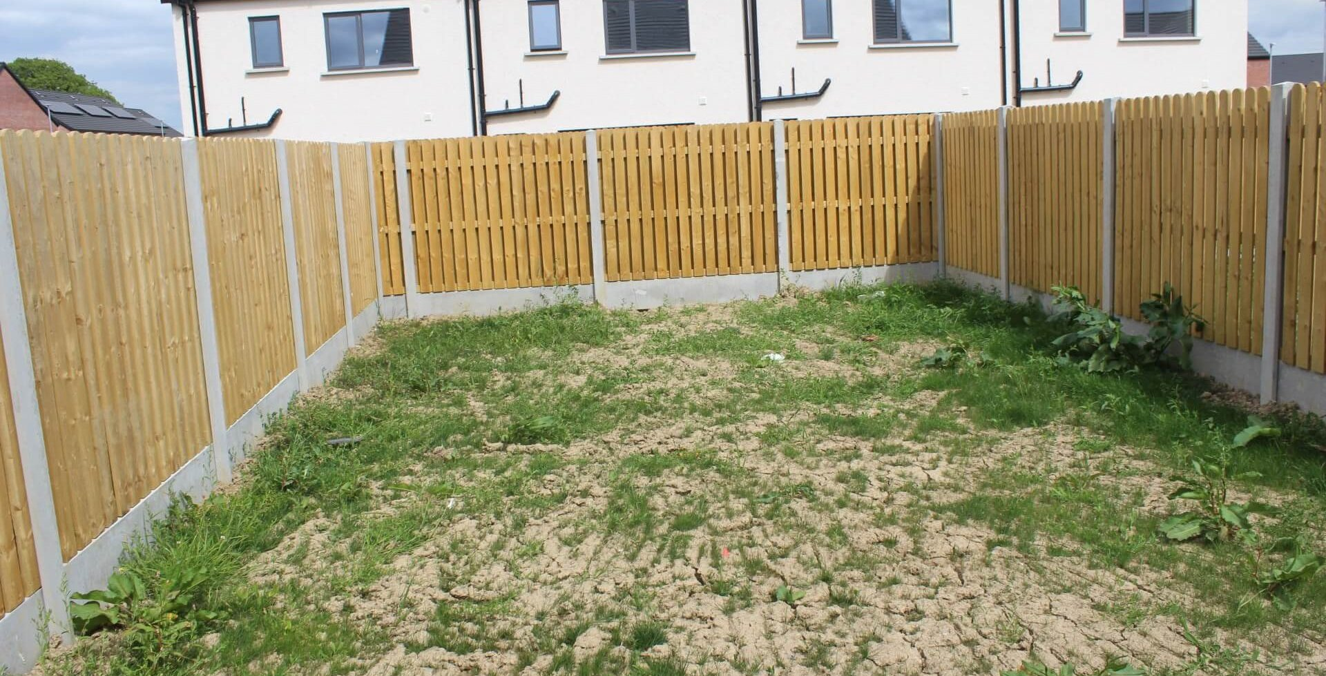 Housing Development Fence