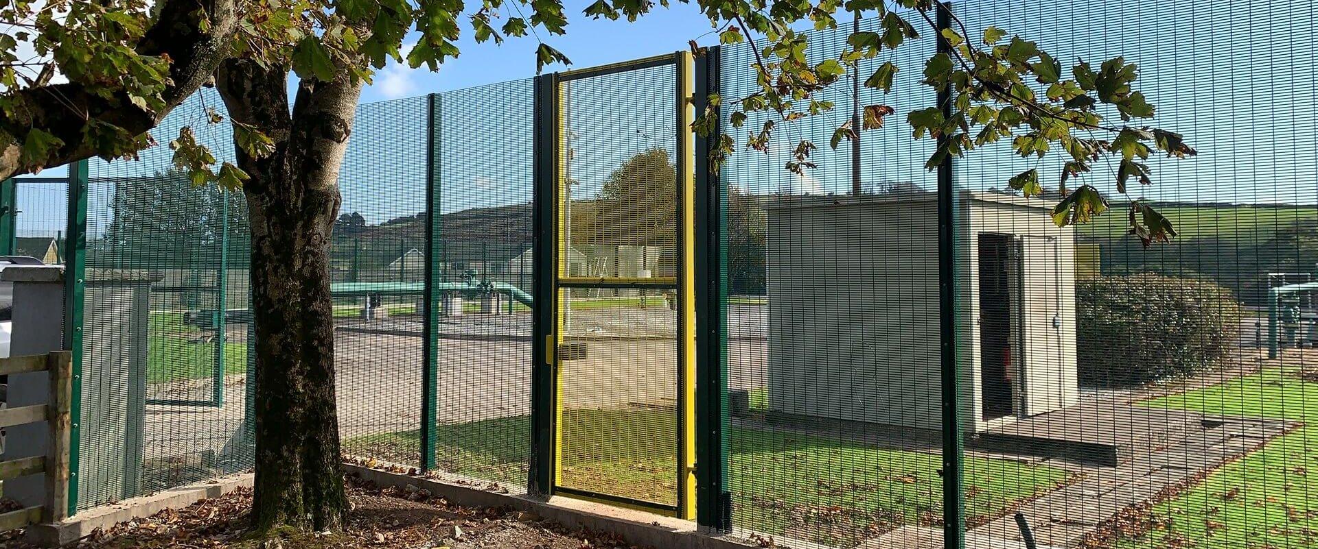 Prison Mesh AGI Gate